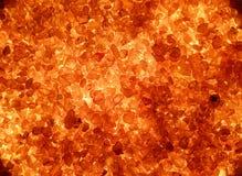 Cristalli rossi Fotografie Stock Libere da Diritti