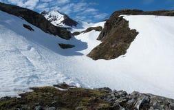 Cristallino e montagna fotografia stock libera da diritti