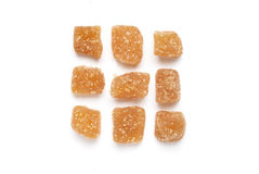 Crystallized Ginger Royalty Free Stock Images