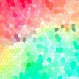 Cristallisez le fond d'abrégé sur couleur Images stock
