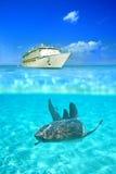 Cristallo - acque libere Fotografia Stock Libera da Diritti