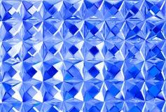 Cristallo blu Fotografia Stock