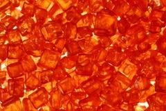 Cristallo - colore rosso Immagine Stock