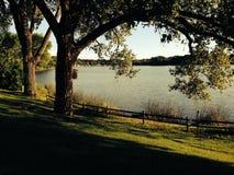 Cristallo del lago Fotografie Stock
