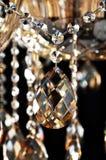 Cristallo dell'oro del champagne Immagine Stock