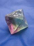 Cristallo della fluorite Fotografie Stock Libere da Diritti
