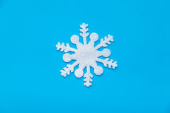 Cristallo di ghiaccio di Natale Fotografie Stock Libere da Diritti