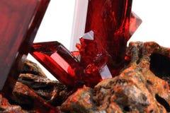 6] cristallo di ido del potassio-ferricyan K3 [Fe (CN) Immagine Stock