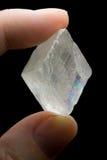 Cristallo di quarzo naturale Fotografia Stock