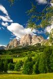 Cristallo mountain group near Cortina d'Ampezzo, Italy Stock Photos