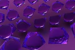 Cristallo porpora di Keabbo royalty illustrazione gratis
