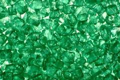 Cristallo verde Fotografia Stock Libera da Diritti