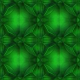 Cristallo verde Fotografie Stock