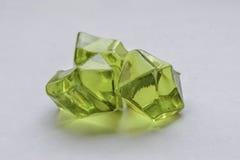 Cristallo verde Fotografie Stock Libere da Diritti