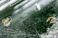 Cristallo verde 2 Fotografie Stock Libere da Diritti