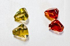Cristals del color Fotografía de archivo libre de regalías