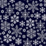 Cristals della neve Fotografie Stock