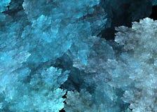 Cristals lód, wizerunek odpłaca się dla projekta ilustracja wektor