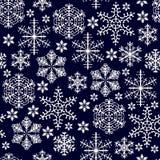 Cristals van de sneeuw royalty-vrije illustratie