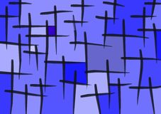 Cristandade ilustração stock