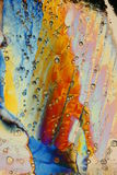 Cristaux colorés par arc-en-ciel Photos libres de droits