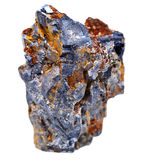 Cristaux de minerai de galène Photo stock