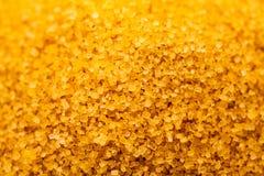 Cristaux de sucre de canne à sucre Image stock