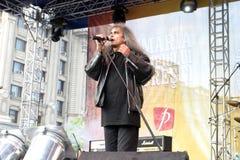 Cristi Minculescu. Cristi Mingulescu - Iris - singer of famous romanian rock bands royalty free stock images