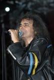 Cristi Minculescu. Cristi Mingulescu - Iris - singer of famous romanian rock bandsrn stock photo