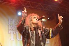 Cristi Minculescu. Cristi Mingulescu - ex Iris - singer of famous romanian rock bands stock photos
