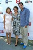 Cristian De La Fuente, Eva Longoria, Janet Murguia Fotos de archivo
