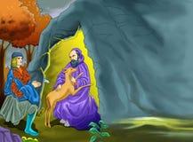Cristian opowieść ilustracja wektor