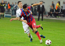 Cristian Tanase during Champions League game Royalty Free Stock Photography