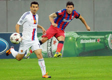 Cristian Tanase during Champions League game Royalty Free Stock Image
