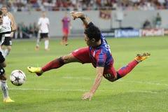 Cristian Tanase di Steaua Bucarest Fotografia Stock