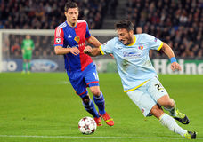 Cristian Tanase pictured during UEFA Champions League game Royalty Free Stock Image