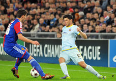 Cristian Tanase pictured during UEFA Champions League game Stock Images