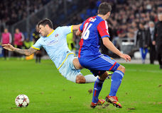 Cristian Tanase pictured during UEFA Champions League game Stock Photography