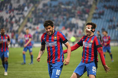 Cristian Tanase and Raul Rusescu Stock Image