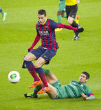 Cristian Tello of FC Barcelona Stock Photo