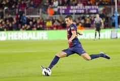 Cristian Tello of FC Barcelona Royalty Free Stock Image