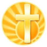 Cristianismo ilustración del vector