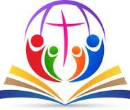 Cristianismo global ilustración del vector
