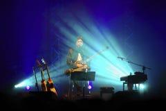 Cristiano De Andrè live Stock Image