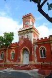 Cristiano del fuerte, Charlotte Amalie, St Thomas Fotografía de archivo