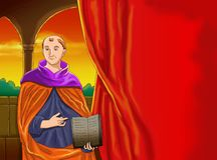 Cristiano idea2 del calendario de Santo santa Imágenes de archivo libres de regalías