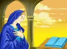 Cristiano idea2 del calendario de Santo santa Foto de archivo