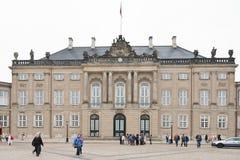 Cristiano palacio de VIII en Copenhague fotos de archivo