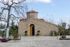 Cristiano, primo piano Grecia, Peloponessus della chiesa ortodossa fotografia stock