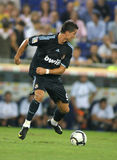 Cristiano Ronaldo. Of Real Marid CF in action during a Spanish League match against RCD Espanyol de Barcelona at the Estadi Cornella-El Prat on September 12 Stock Photos